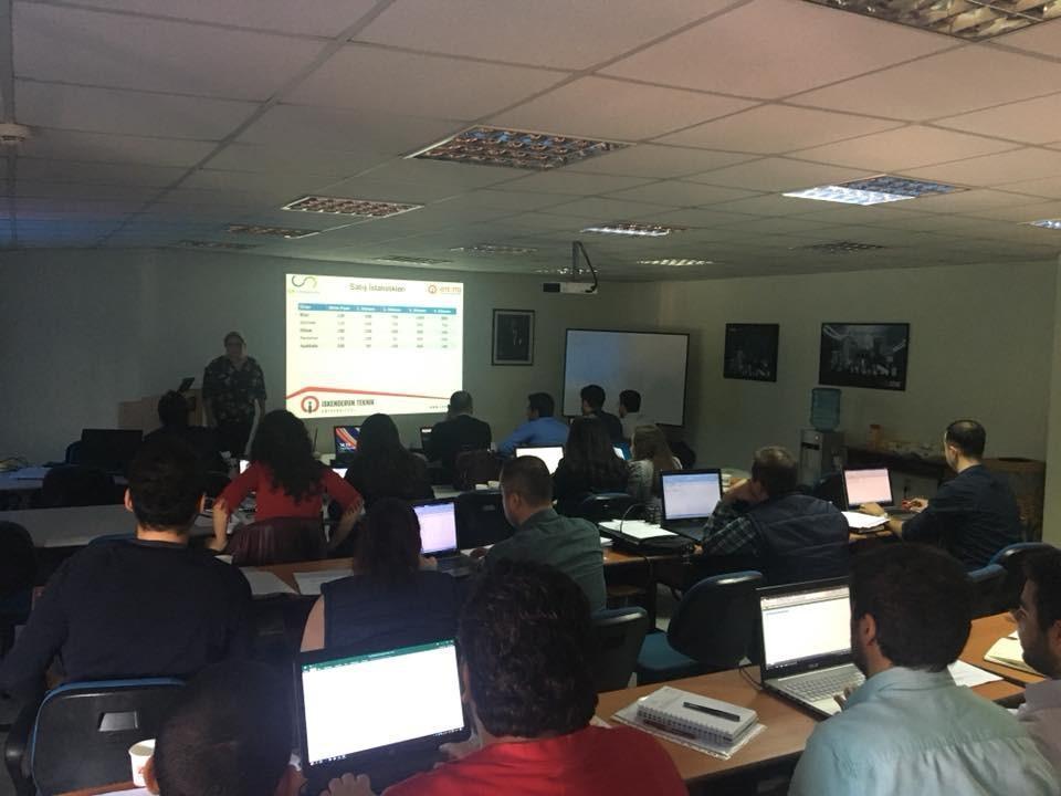 İSTE-TTO Tarafından ASAŞ Filtre- AGM Otomotiv- GFT Filtre Çalışanlarına Yönelik Uygulamalı Temel Raporlama Eğitimi