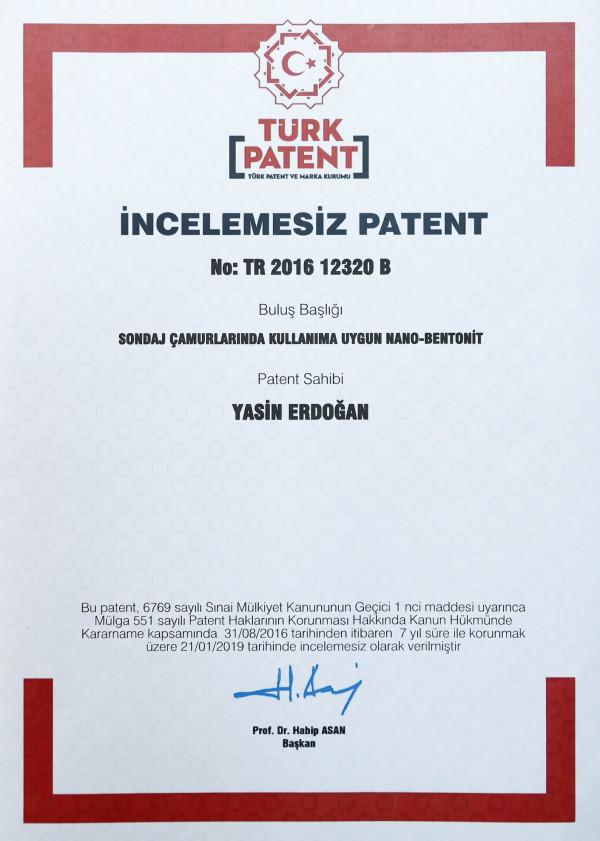 İSTE'de üretilen Nano-Bentonit Patentlendi!