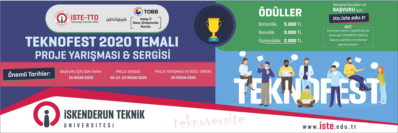 TEKNOFEST 2020 TEMALI PROJE YARIŞMASI & SERGİSİ