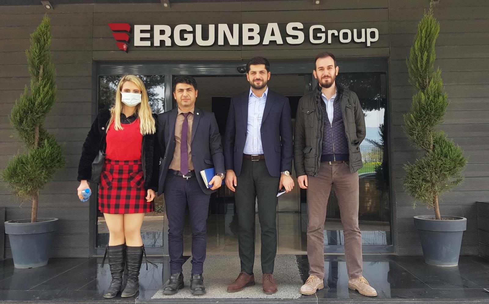 İSTE-TTO'dan ERGÜNBAŞ GROUP'a Ziyaret