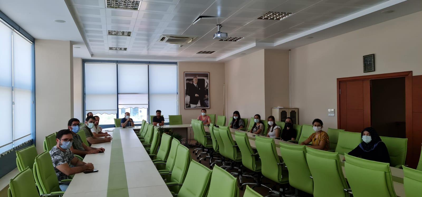 Teknoloji Transfer Ofisi Haftalık Toplantı